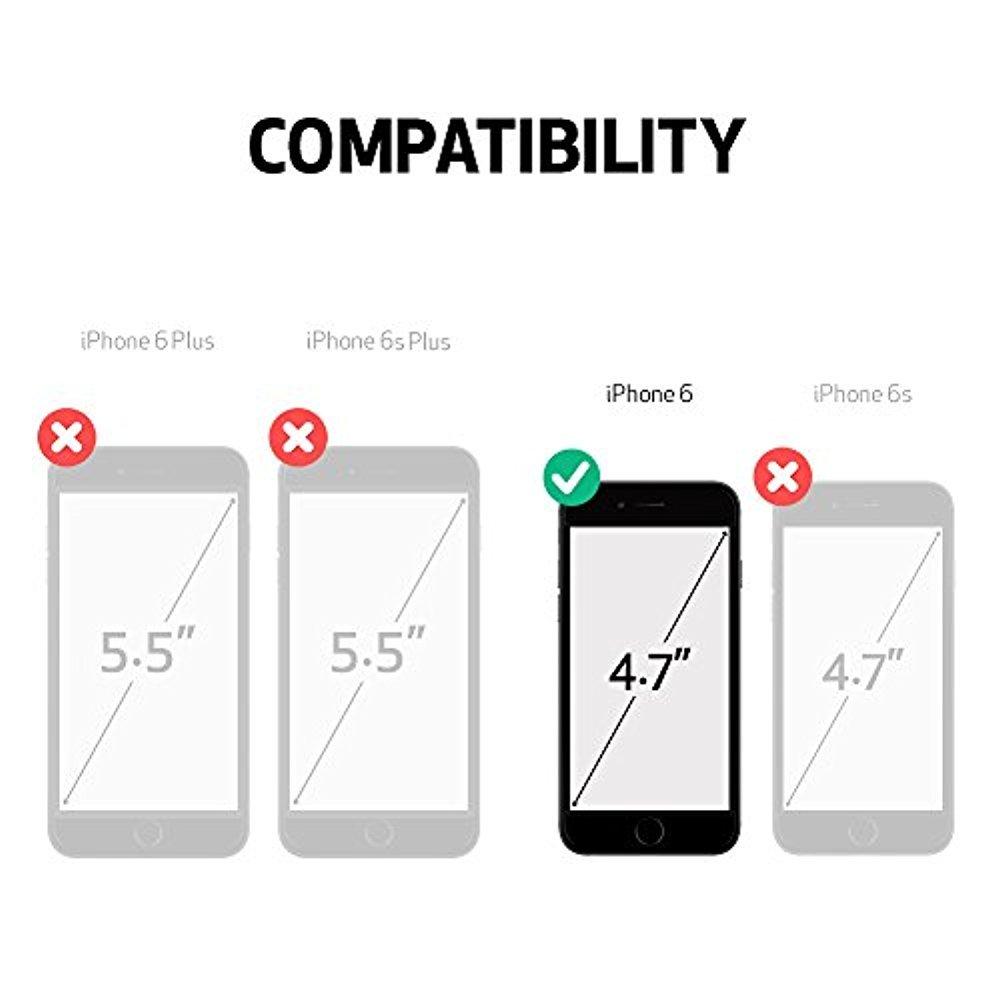 LifeProof NÜÜD iPhone 6 Waterproof Case (4.7'' Version) - Pink Pursuit (White/Deep Pink)