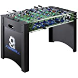 Hathaway Playoff Soccer Table, Black/Green, 4-Feet