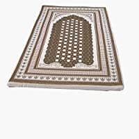 Sajjada MEMORY FOAM AREA RUG & RUNNERS (Prayer Rug) (CREAM)