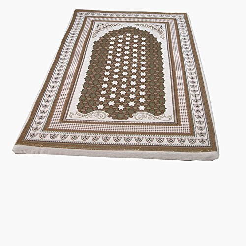 Sajjada-MEMORY-FOAM-AREA-RUG-RUNNERS-Prayer-Rug-CREAM