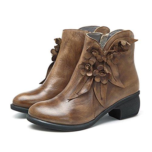 Boots Women's Brown Women's Socofy Socofy Brown Women's Boots Women's Brown Boots Socofy Socofy Women's Boots Brown Socofy ttvRUw