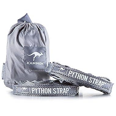 Kammok Python Strap Hammock Suspension System, Stone Gray