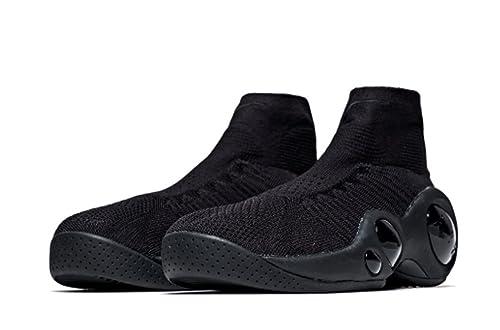 super popular 2812b a20f5 Amazon.com  NIKE Air Flight Bonafide Jason Kidd (GS) 918339-001 Triple  Black (4.5y, Black Black-Black)  Shoes