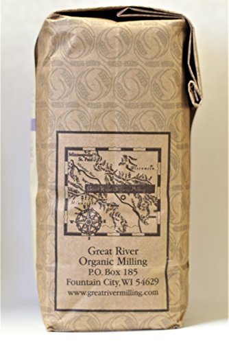 Great River Organic Milling Organic Buckwheat Flour, 2 Pound by Great River Organic Milling (Image #2)