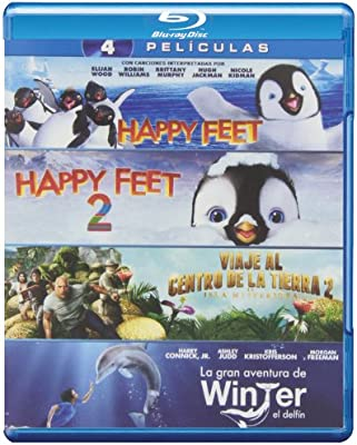 Pack: Happy Feet 2 + Happy Feet 1 + La Gran Aventura De Winter, El ...