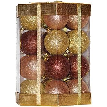Amazon.com: Sea Team 50-Pack Assorted Shatterproof Christmas Balls ...