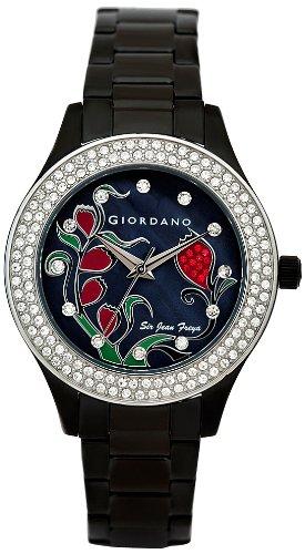 Giordano Analog Black Dial Women's Watch 2587-33