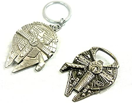 Star Wars Millennium Falcon keyring two piece bottle opener NEW UNOPENED