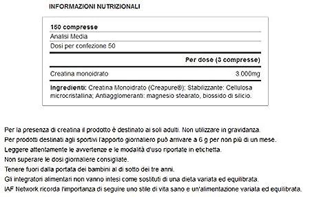 Yamamoto Nutrition Creatine Pro Creapure Quality - 150 Tabletas: Amazon.es: Salud y cuidado personal