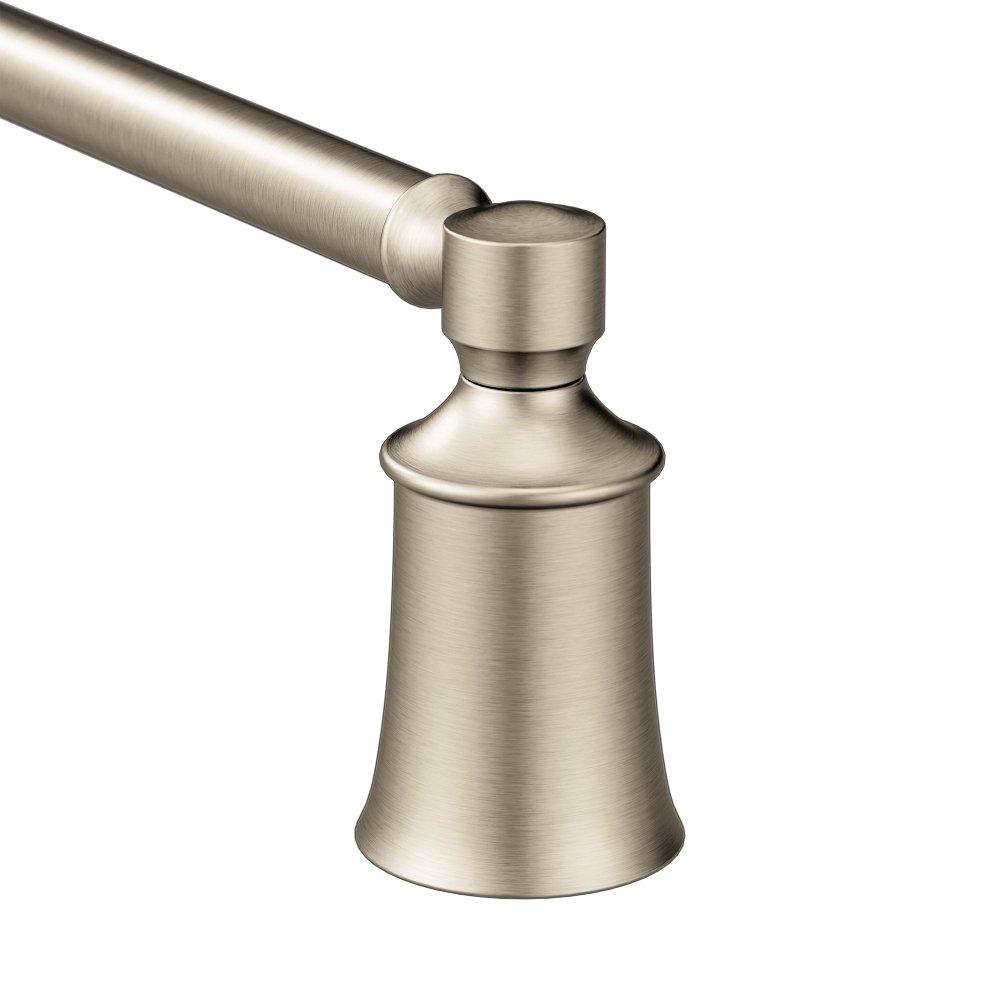Moen YB2124BN Dartmoor Towel Bar, 24'', Brushed Nickel