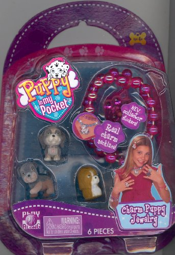 Puppy In my Pocket Charm Puppy Jewelry