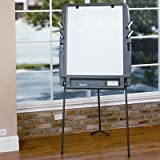 Brand New Iceberg Portable Flipchart Easel With Dry Erase Surface Resin 35 X 30 X 73 Charcoal