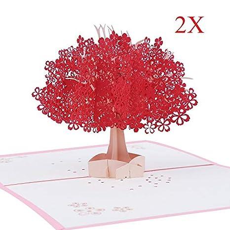 Amazon.com: Tarjeta desplegable, tarjeta 3D, tarjeta de ...