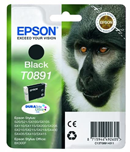 Epson C13T08914011 - Cartucho de tóner adecuado para BX300F, color ...