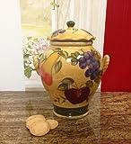 Tuscany Grape Fruit wine Decor COOKIE JAR, CANISTER 1 PC