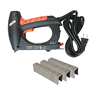 Air Locker KA641K Dual Electric Shoot 20 Gauge T50 Stapler / 18 Gauge Brad Nailer Kit