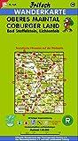 Fritsch Karten, Nr.50, Oberes Maintal, Coburg, Lichtenfels, Staffelstein. (Fritsch Wanderkarten 1:50000)
