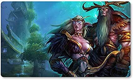 Warcraft94 – Juego de mesa de Warcraft tapete de mesa Wow juegos teclado Pad Tamaño 60 x 35 cm World of Warcraft Mousepad para Yugioh Pokemon MTG o TCG: Amazon.es: Oficina y papelería