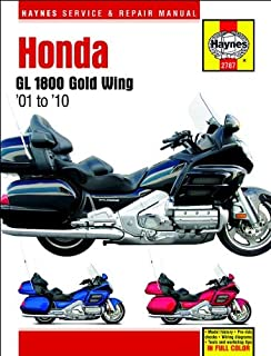 amazon com clymer repair manual for honda gl1800 goldwing 01 05 rh amazon com 2006 honda goldwing gl1800 service manual pdf 2006 honda goldwing service manual