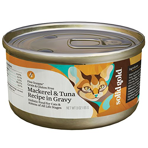 Solid Gold Five Oceans Holistic Grain Free Wet Cat Food, Mac