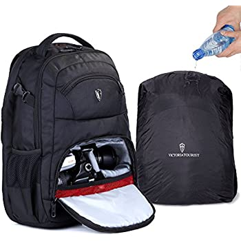 Amazon.com : Camera Bag DSLR Backpack with 16 inch Laptop