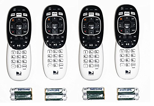 Lot of 4 DirecTV RC73 remote controls for Genie HR34 HR44 all HD DirecTV brand receivers by DIRECTV