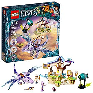 LEGO 6212146 Elves Aira and The Song of The Wind Dragon 41193 Building Kit - 51jch0qEfNL - LEGO 6212146 Elves Aira and The Song of The Wind Dragon 41193 Building Kit