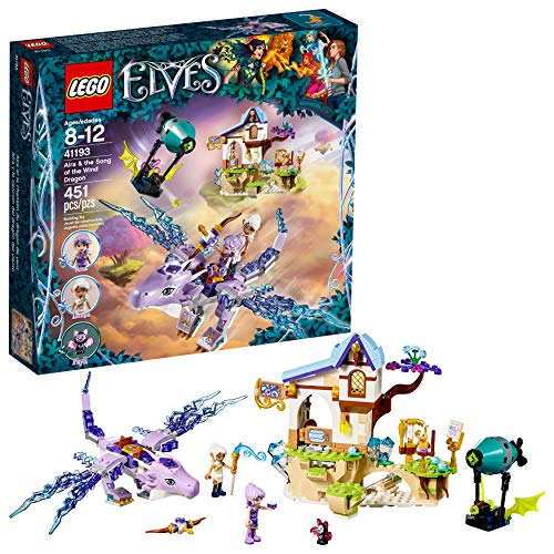 (LEGO 6212146 Elves Aira and The Song of The Wind Dragon 41193 Building Kit )