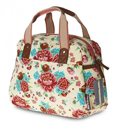 Basil Bloom Kids Carry All & Bicycle Pannier - Gardenia White Floral - 11 ()