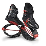 KJ-Power Shoes Titanium and Red Size Boys 1-3 Girls 2-4