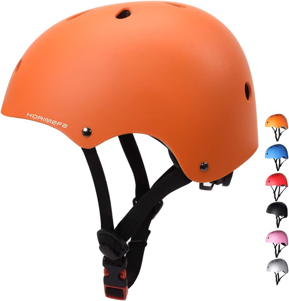 KORIMEFA Skateboard Bike Helmet