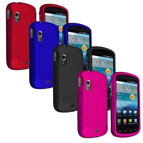 Combo-4IN1-Colorful-Black-Pink-Blue-Red-Rubber-Feel-Snap-On-Hard-Protective-Cover-Case-Cell-Phone-for-Verizon-Samsung-Stratosphere-i405