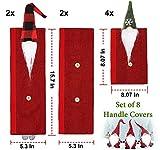 Christmas Refrigerator Handle Covers Set of 8