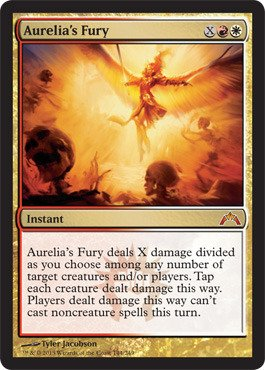 Magic: the Gathering - Aurelia's Fury (144) - Gatecrash - Foil