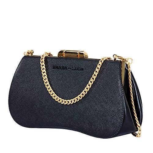 Prada Sidonie Saffiano Leather Bag- Black
