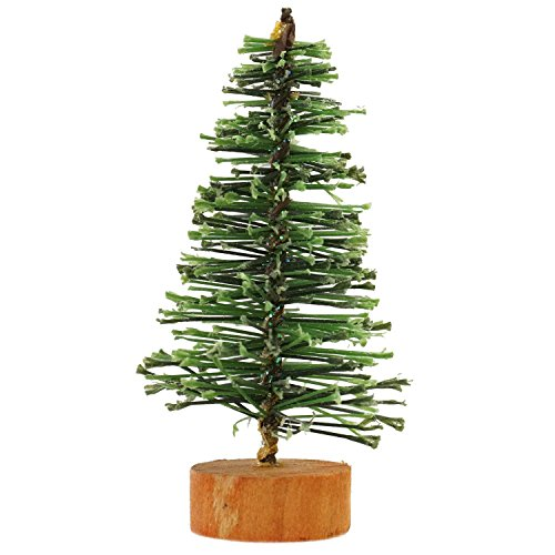 VCO Green Artificial Village Christmas Tree, 3
