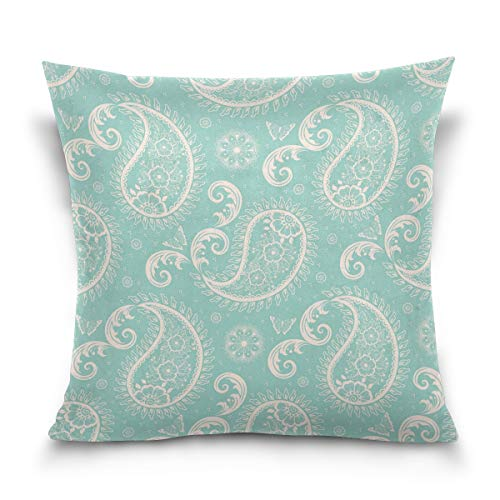 Holisaky Floral Pattern in Arabian Style Decorative Square Throw Pillow Covers Cases Home Décor Bed Sofa Couch Car 20 x 20 inch by Holisaky