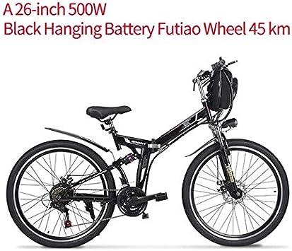 SHIJING Nueva Bicicleta eléctrica 500 w, ebike batería incorporada ...
