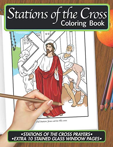 Stations of the Cross Coloring Book: Color • Pray • Relax • Repeat Series