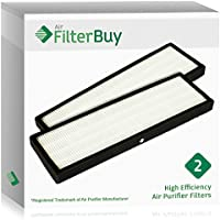 2 - FilterBuy GermGuardian FLT4825 HEPA Replacement Filters. Designed by FilterBuy to fit GermGuardian AC4300, AC4800, AC4900 Series Air Purifiers.