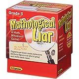 Edupress (EP-3396) Mathological Liar Game, Grade 3