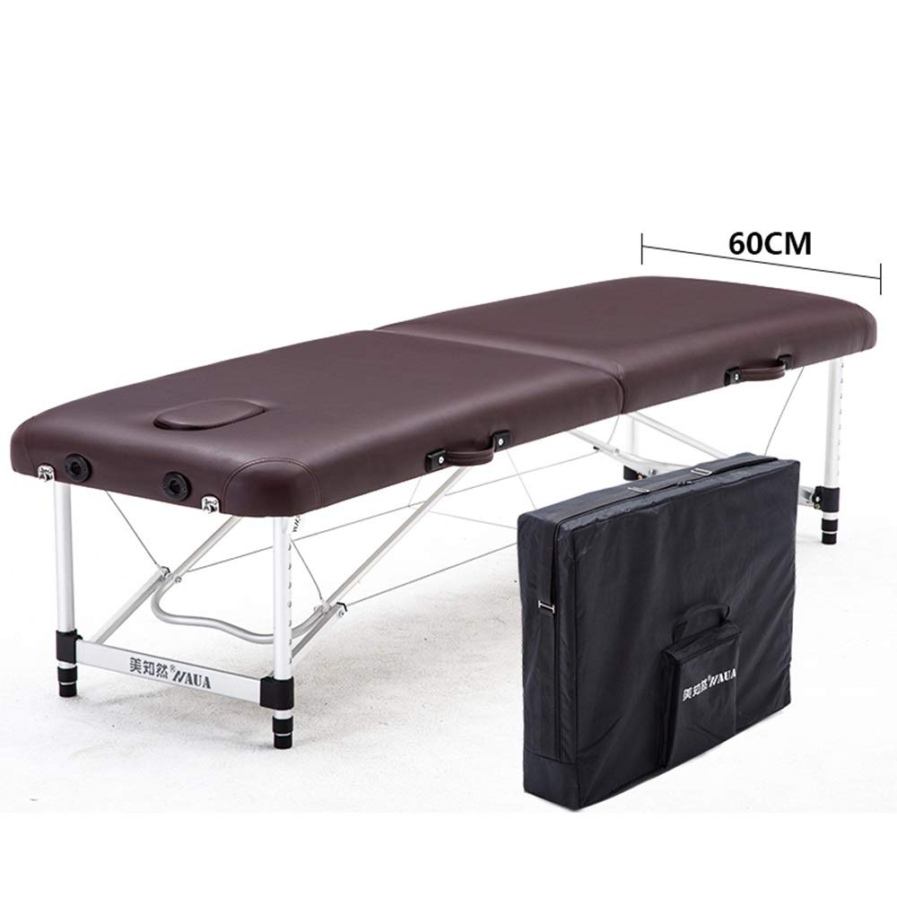 JIAYUAN Portable Massage Table with Backrest Spa Beds Superior Comfort, Deluxe Adjustable Face Cradle, for Tattoo, Hotels, Beauty Salon Heavy-Duty Carry Case in 4 Colors by JIAYUAN