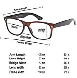 GAMMA RAY 3 Pairs Classic Spring Loaded Readers Reading Glasses - 1.50x