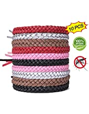 ACTOPP Mückenschutz Armband Moskito Armband 10 Stück Repellent Armbänder Insektenschutz Naturals Mücken Armband Anti Mückenarmband Mücken Gürtel Schutz gegen Mücken Insekten für Outdoor und Indoor