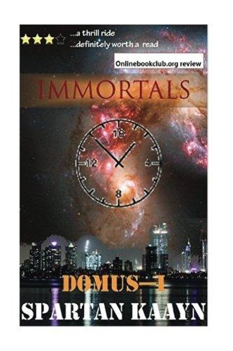 Download Immortals (The Domus Nova Series) (Volume 1) pdf epub