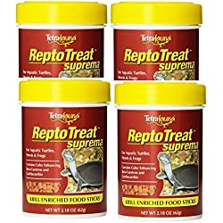 Tetra ReptoTreat Suprema Sticks 2.18 Ounce Each (4 Pack)