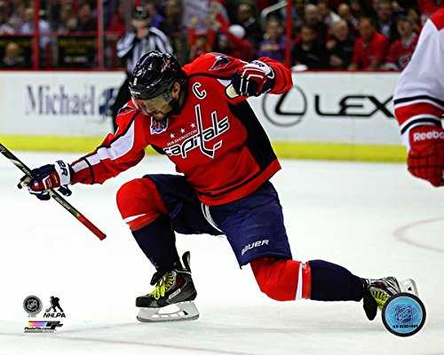 "Alex Ovechkin Washington Capitals 2014-2015 50th Goal Photo (Size: 8"" x 10"")"