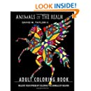 Animals of The Realm: Adult Coloring Book: Coloring the Animals of Heaven (Coloring Books from The Realm) (Volume 1)
