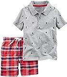 Carter's 2 Piece Polo Shirt Set - Print - 2T