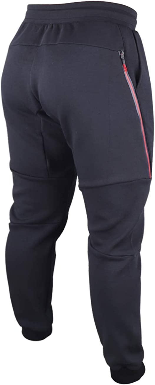 Muscle Alive Hombre Pantalones de ch/ándal para Largos para Entrenamiento deportivode ch/ándal Culturismo Fitness Pants